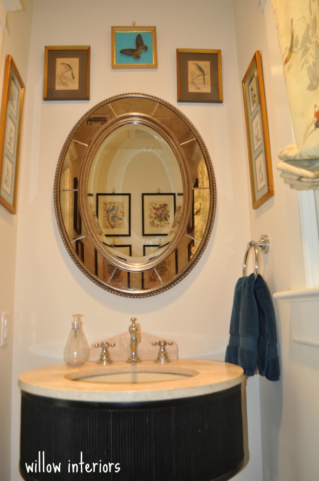 powder room 1/willow interiors